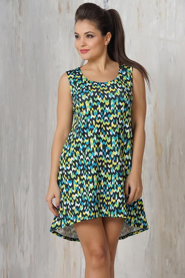 Платье VAYПлатья<br><br><br>Размер RU: 50<br>Пол: Женский<br>Возраст: Взрослый<br>Материал: эластан 5%, микро фибре 95%<br>Цвет: Разноцветный