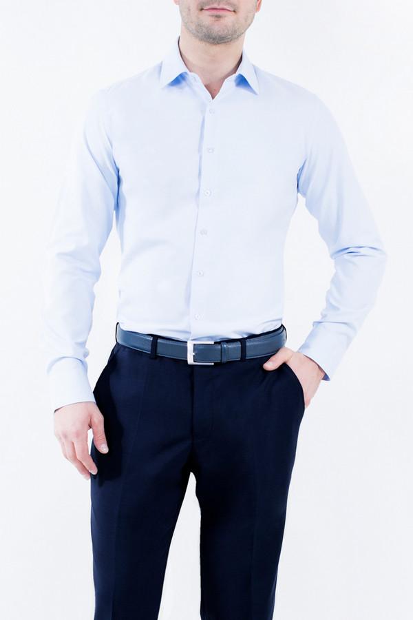 Рубашка Greg HormanРубашки и сорочки<br><br><br>Размер RU: 56<br>Пол: Мужской<br>Возраст: Взрослый<br>Материал: полиэстер 20%, хлопок 80%<br>Цвет: Голубой