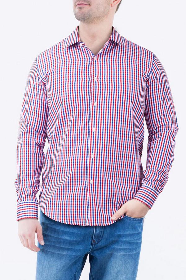 Рубашка Greg HormanРубашки и сорочки<br><br><br>Размер RU: 52<br>Пол: Мужской<br>Возраст: Взрослый<br>Материал: полиэстер 20%, хлопок 80%<br>Цвет: Разноцветный
