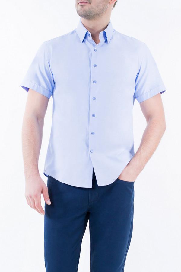 Рубашка Greg HormanРубашки и сорочки<br><br><br>Размер RU: 46<br>Пол: Мужской<br>Возраст: Взрослый<br>Материал: полиэстер 20%, хлопок 80%<br>Цвет: Голубой