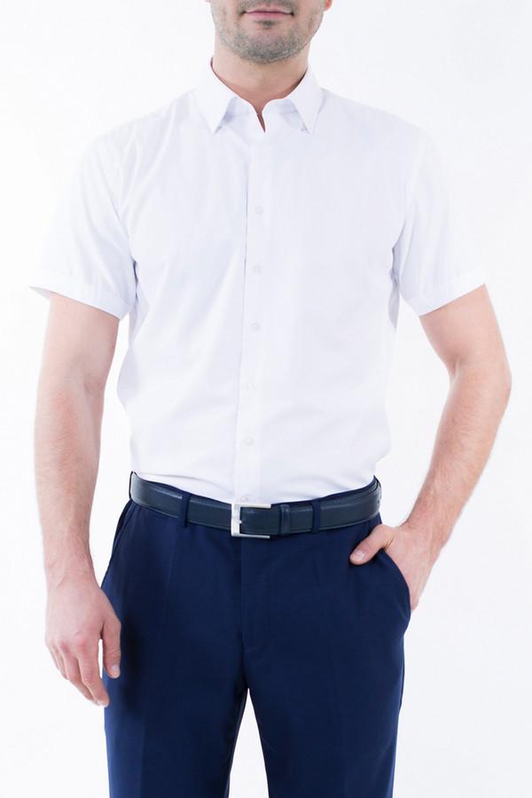 Рубашка Greg HormanРубашки и сорочки<br><br><br>Размер RU: 52<br>Пол: Мужской<br>Возраст: Взрослый<br>Материал: полиэстер 20%, хлопок 80%<br>Цвет: Белый