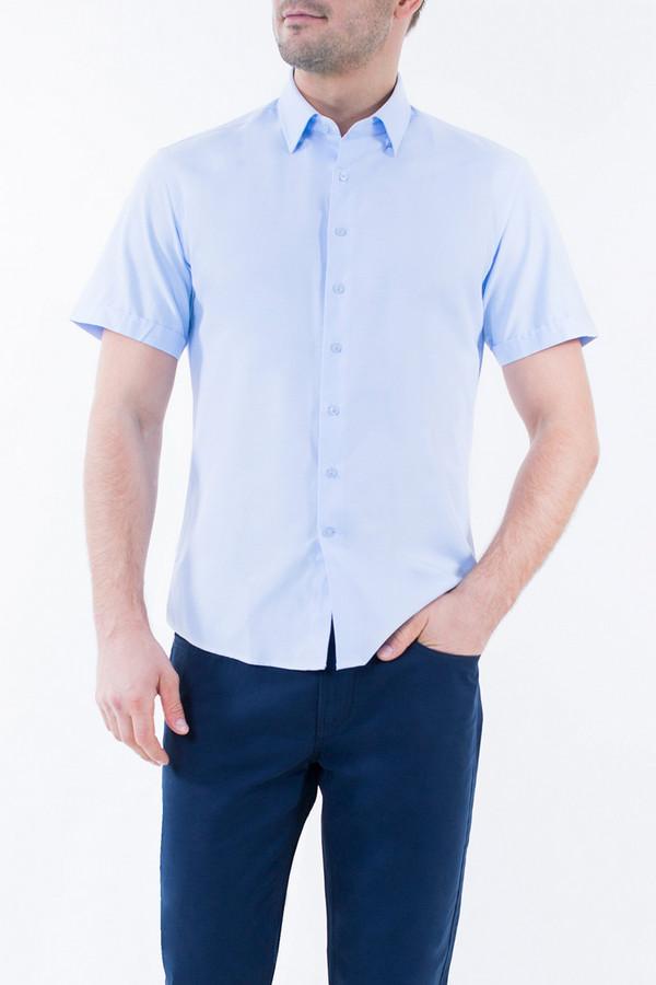 Рубашка Greg HormanРубашки и сорочки<br><br><br>Размер RU: 50<br>Пол: Мужской<br>Возраст: Взрослый<br>Материал: полиэстер 20%, хлопок 80%<br>Цвет: Голубой