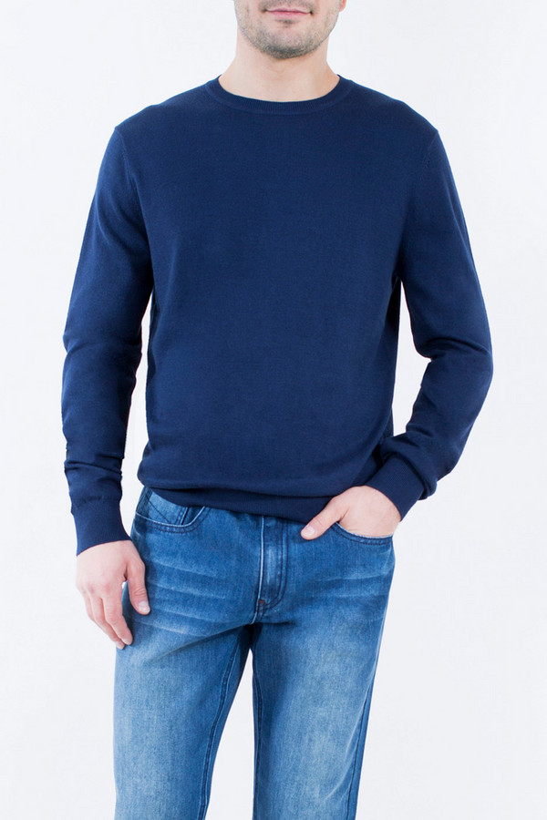 Джемпер Greg Horman<br><br>Размер RU: 54<br>Пол: Мужской<br>Возраст: Взрослый<br>Материал: акрил 30%, хлопок 70%<br>Цвет: Синий