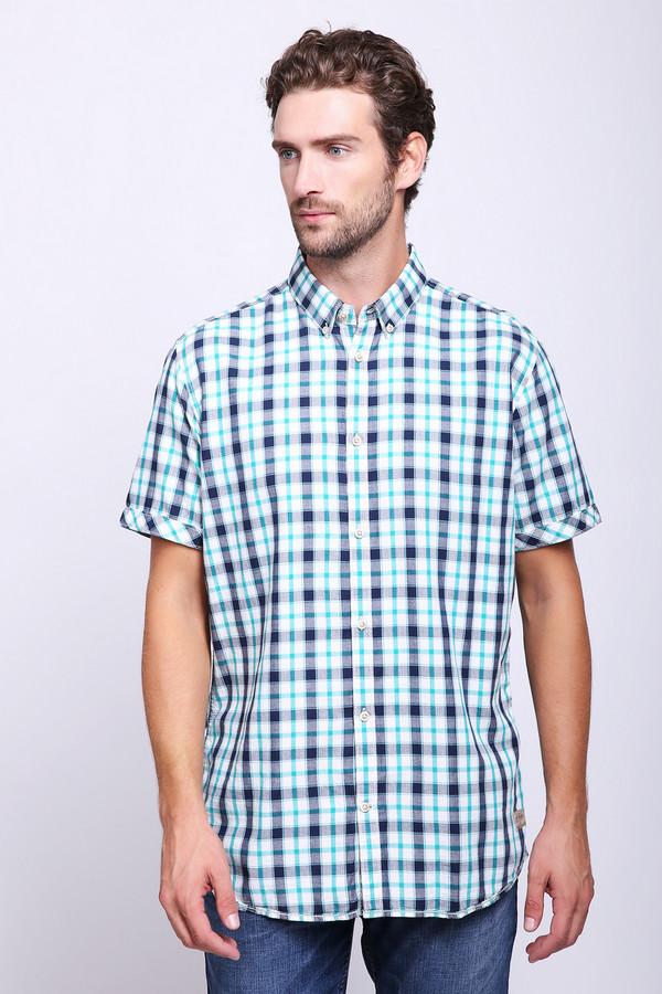 Мужские рубашки с коротким рукавом Tom TailorКороткий рукав<br>