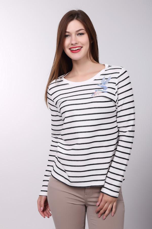 Пуловер Tom TailorПуловеры<br><br><br>Размер RU: 40-42<br>Пол: Женский<br>Возраст: Взрослый<br>Материал: хлопок 100%<br>Цвет: Белый