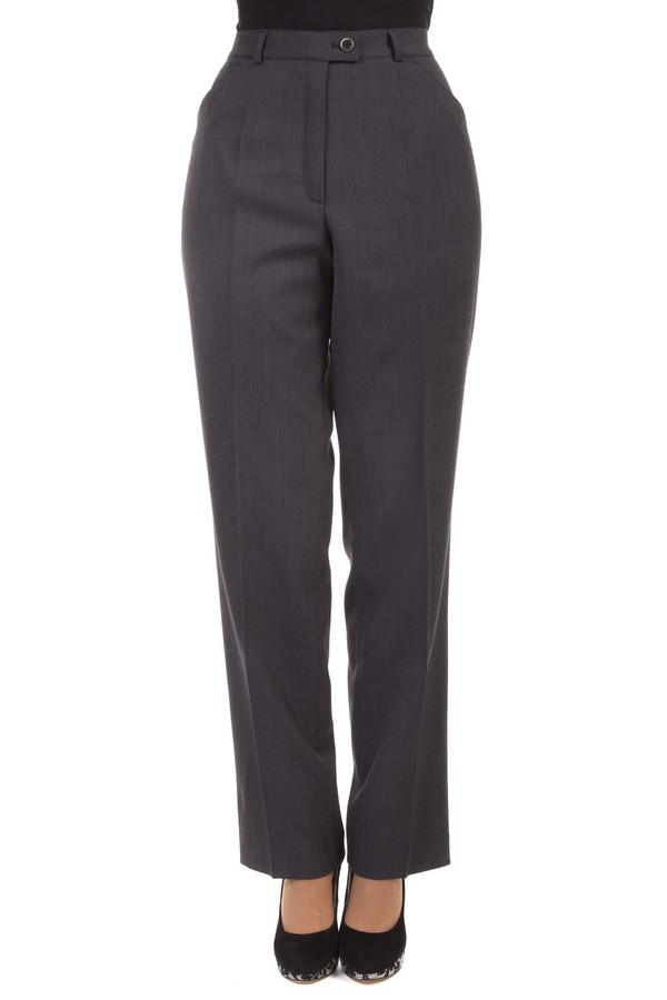 Брюки BraxБрюки<br>Женственные классические брюки от бренда Brax выполнены из ткани темно-серого цвета. Изделие дополнено: высокой посадкой талии, поясом с шлевками для ремня, двумя боковыми карманами и классическими стрелками. Брюки застегиваются на молнию и фиксируются на пуговицу.<br><br>Размер RU: 56<br>Пол: Женский<br>Возраст: Взрослый<br>Материал: эластан 5%, полиэстер 52%, шерсть 43%<br>Цвет: Серый