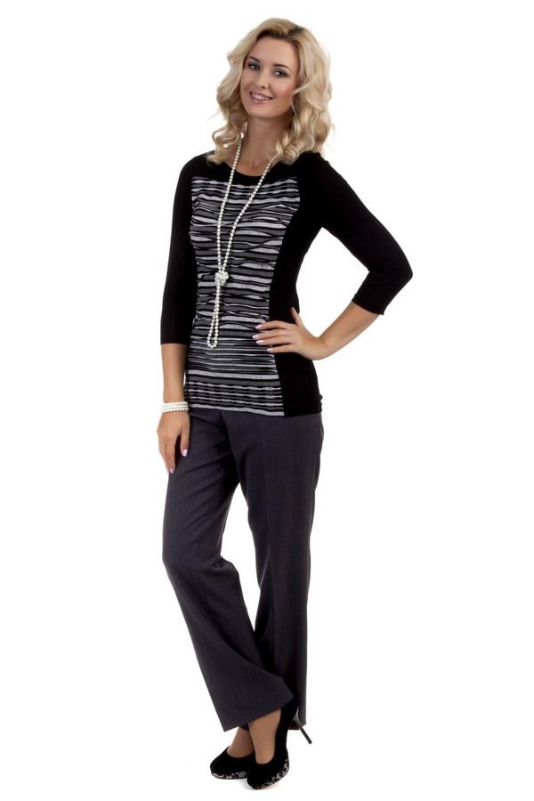 Брюки BraxБрюки<br>Женственные классические брюки от бренда Brax выполнены из ткани темно-серого цвета. Изделие дополнено: высокой посадкой талии, поясом с шлевками для ремня, двумя боковыми карманами и классическими стрелками. Брюки застегиваются на молнию и фиксируются на пуговицу.<br><br>Размер RU: 50<br>Пол: Женский<br>Возраст: Взрослый<br>Материал: эластан 5%, полиэстер 52%, шерсть 43%<br>Цвет: Серый