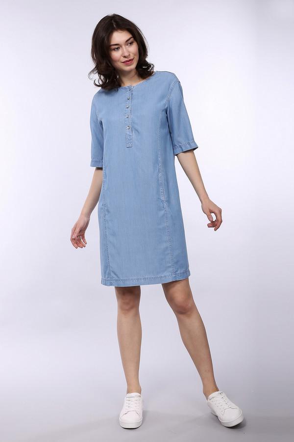 Платье LecomteПлатья<br><br><br>Размер RU: 44<br>Пол: Женский<br>Возраст: Взрослый<br>Материал: лиоцел 100%<br>Цвет: Голубой