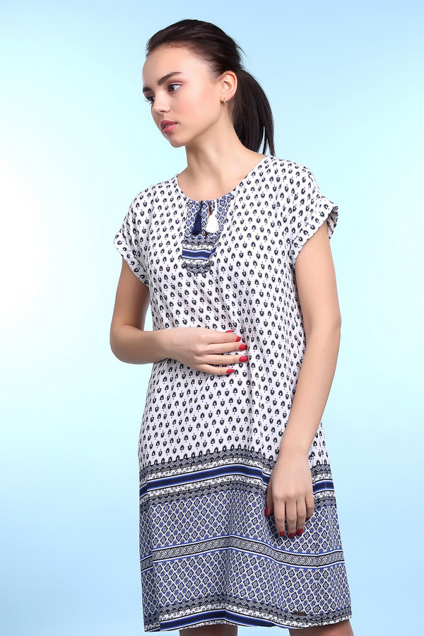 Платье Tom TailorПлатья<br><br><br>Размер RU: 44;164<br>Пол: Женский<br>Возраст: Детский<br>Материал: см. на вшивном ярлыке 0%<br>Цвет: Разноцветный