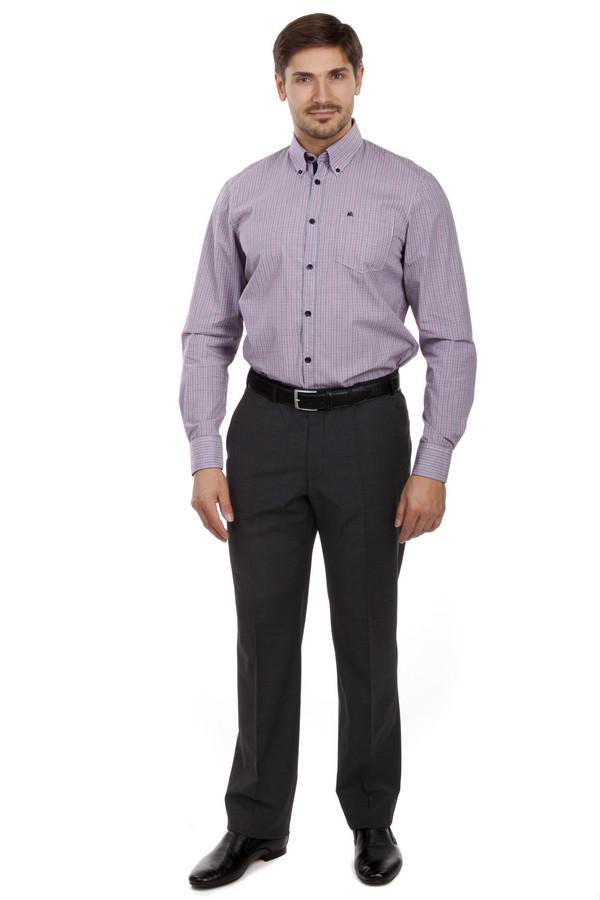 Классические брюки DigelКлассические брюки<br>Классические брюки от бренда Digel прямого кроя выполнены из плотной ткани серого цвета. Изделие дополнено: стрелками, шлевками под ремень, двумя боковыми карманами, сзади двумя прорезными карманами на пуговицах. Брюки застегиваются на молнию и фиксируются на пуговицу.<br><br>Размер RU: 48L<br>Пол: Мужской<br>Возраст: Взрослый<br>Материал: эластан 4%, полиэстер 53%, шерсть 43%<br>Цвет: Серый