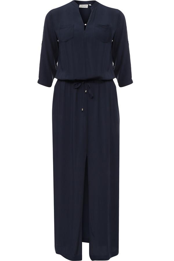 Платье FINN FLAREПлатья<br><br><br>Размер RU: 46<br>Пол: Женский<br>Возраст: Взрослый<br>Материал: вискоза 100%<br>Цвет: Синий