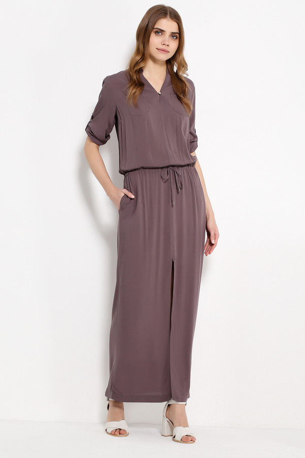 Платье FINN FLAREПлатья<br><br><br>Размер RU: 48<br>Пол: Женский<br>Возраст: Взрослый<br>Материал: вискоза 100%<br>Цвет: Бежевый