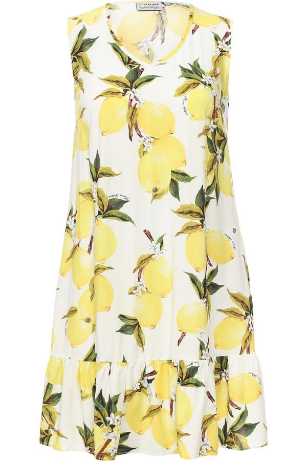 Платье FINN FLAREПлатья<br><br><br>Размер RU: 44<br>Пол: Женский<br>Возраст: Взрослый<br>Материал: вискоза 100%<br>Цвет: Разноцветный