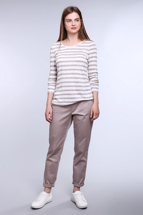 женские брюки taifun, бежевые