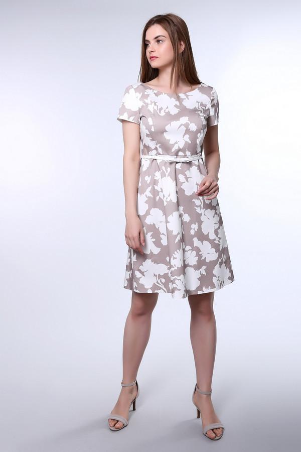 Платье TaifunПлатья<br><br><br>Размер RU: 52<br>Пол: Женский<br>Возраст: Взрослый<br>Материал: эластан 3%, хлопок 97%<br>Цвет: Белый