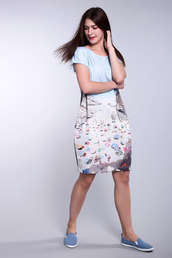 Платье OuiПлатья<br><br><br>Размер RU: 48<br>Пол: Женский<br>Возраст: Взрослый<br>Материал: полиэстер 50%, вискоза 50%