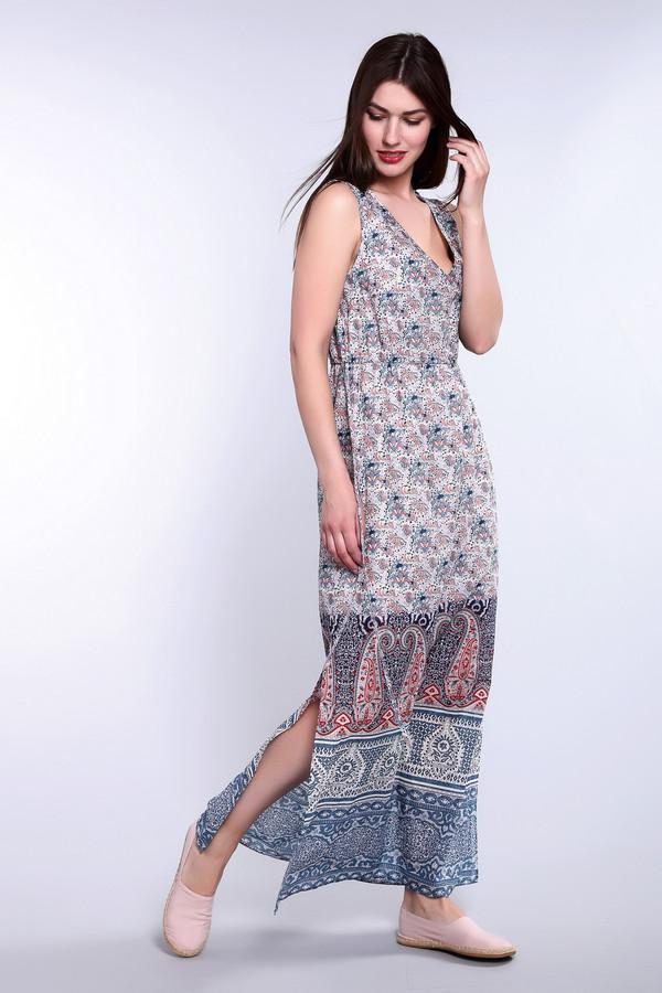 Платье OuiПлатья<br><br><br>Размер RU: 46<br>Пол: Женский<br>Возраст: Взрослый<br>Материал: хлопок 100%, Состав_подкладка вискоза 100%<br>Цвет: Разноцветный