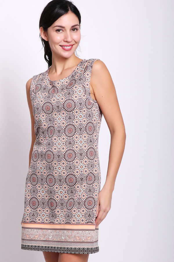 женское платье comma, разноцветное