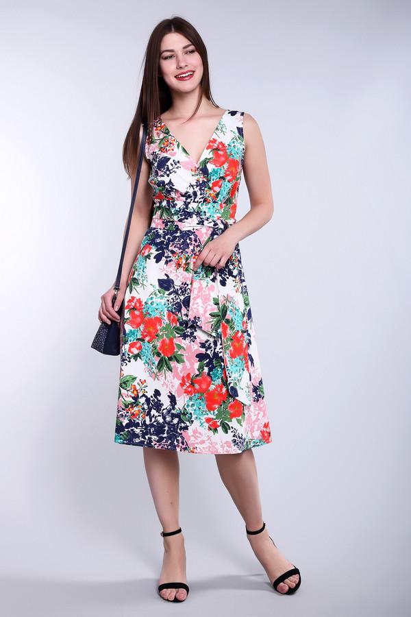 Платье ArgentПлатья<br><br><br>Размер RU: 52<br>Пол: Женский<br>Возраст: Взрослый<br>Материал: хлопок 95%, лайкра 5%<br>Цвет: Разноцветный