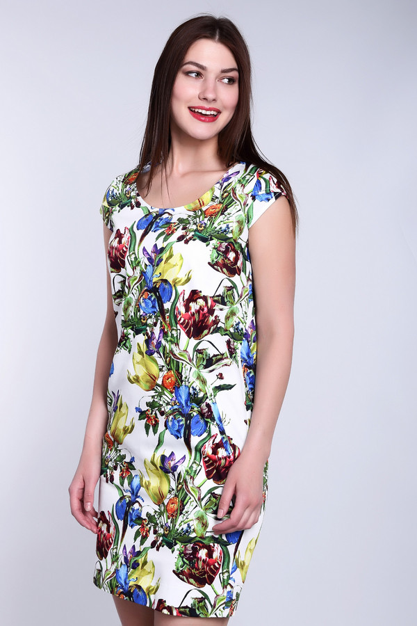 Платье ArgentПлатья<br><br><br>Размер RU: 48<br>Пол: Женский<br>Возраст: Взрослый<br>Материал: хлопок 95%, лайкра 5%<br>Цвет: Разноцветный
