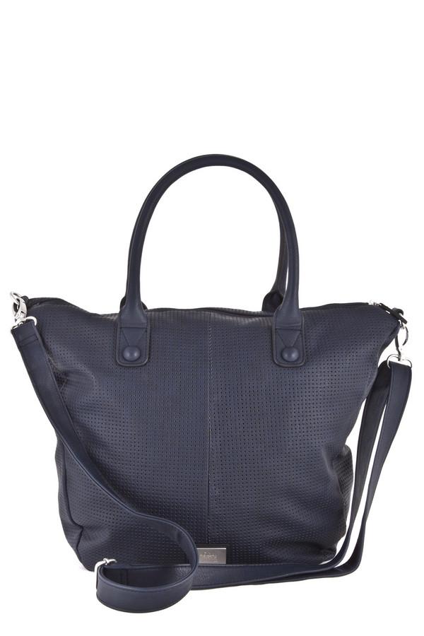 Сумка s.OliverСумки<br>Удобная, вместительная сумка s.Oliver глубокого синего цвета. Выполнена из искусственной кожи. Просторное внутреннее отделение дополнено кармашком для мобильного телефона и отделением для мелочей, закрывающимся на молнию. В комплект входит отстегивающийся регулируемый ремень на прочных застежках-карабинах. Легкая, практичная сумка для тех кто ценит комфорт и стиль. Максимальная длинна ремня:150 см, минимальная - 75 см.   Подкладка 80% полиэстер 20% хлопок.    ШхВхГ 30х35х10<br><br>Размер RU: один размер<br>Пол: Женский<br>Возраст: Взрослый<br>Материал: полиуретан 100%<br>Цвет: Синий
