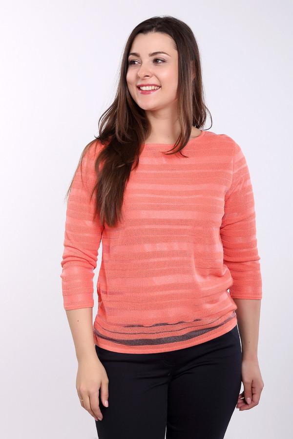 Пуловер Gerry WeberПуловеры<br><br><br>Размер RU: 50<br>Пол: Женский<br>Возраст: Взрослый<br>Материал: полиамид 25%, полиэстер 3%, вискоза 72%<br>Цвет: Оранжевый