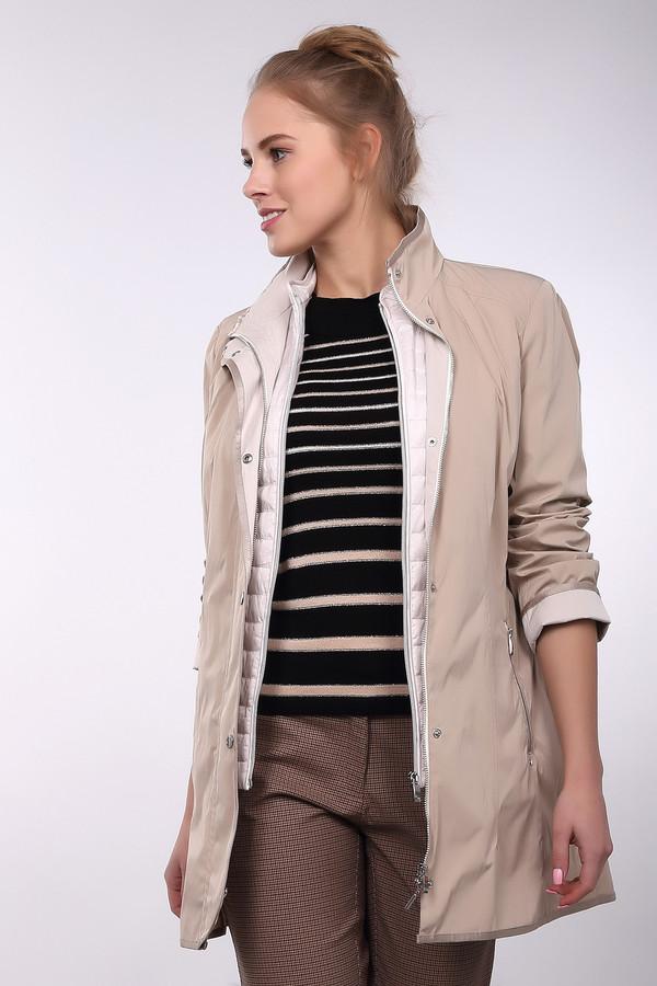Куртка Gerry WeberКуртки<br><br><br>Размер RU: 44<br>Пол: Женский<br>Возраст: Взрослый<br>Материал: полиэстер 100%, Состав_подкладка полиэстер 100%<br>Цвет: Разноцветный