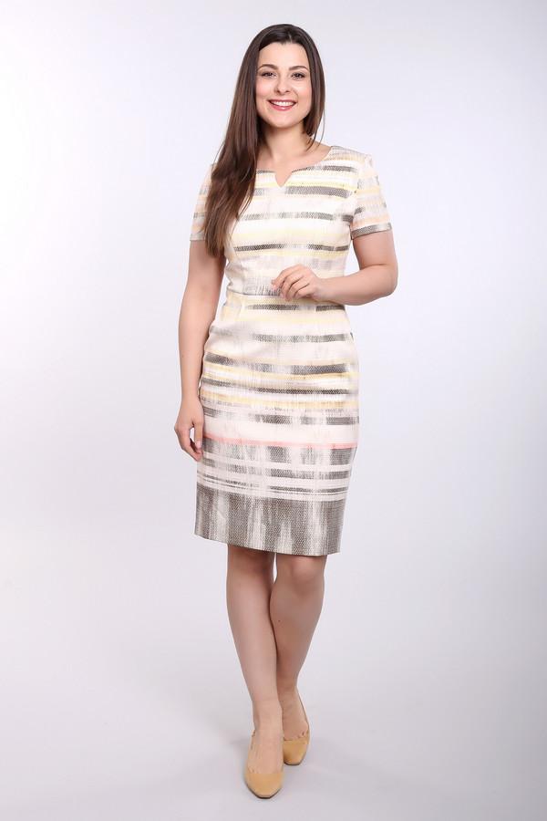 Платье Gerry WeberПлатья<br><br><br>Размер RU: 46<br>Пол: Женский<br>Возраст: Взрослый<br>Материал: эластан 2%, хлопок 50%, полиэстер 48%, Состав_подкладка полиэстер 100%<br>Цвет: Разноцветный