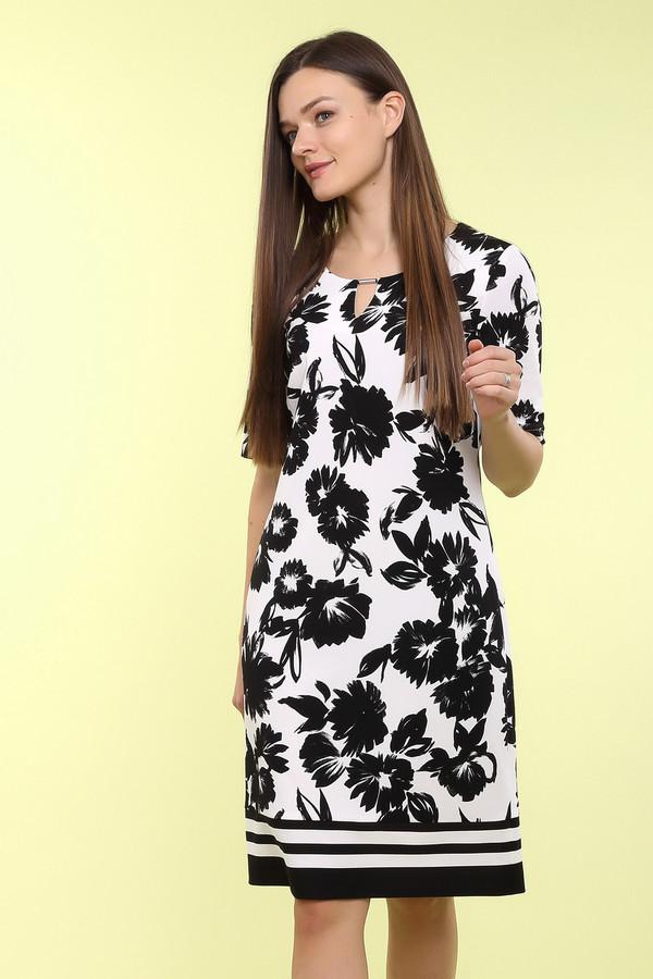 Платье Gerry WeberПлатья<br><br><br>Размер RU: 50<br>Пол: Женский<br>Возраст: Взрослый<br>Материал: эластан 5%, полиэстер 95%<br>Цвет: Чёрный