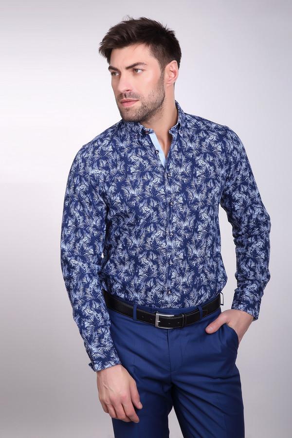 Рубашка Daniel HechterРубашки и сорочки<br><br><br>Размер RU: 48<br>Пол: Мужской<br>Возраст: Взрослый<br>Материал: хлопок 100%<br>Цвет: Синий