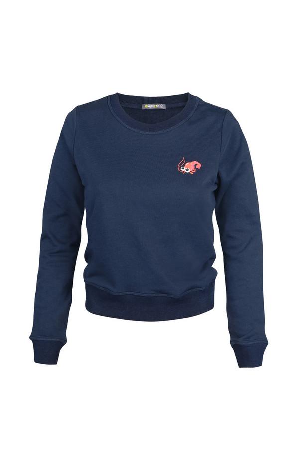 Пуловер GrezzoПуловеры<br><br><br>Размер RU: 44-46<br>Пол: Женский<br>Возраст: Взрослый<br>Материал: хлопок 100%<br>Цвет: Синий