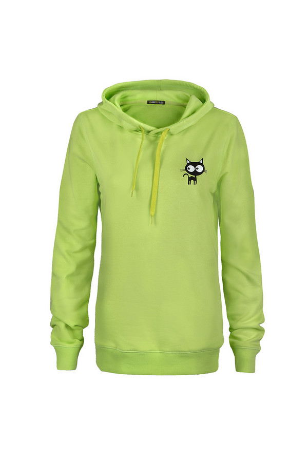 Пуловер GrezzoПуловеры<br><br><br>Размер RU: 48-50<br>Пол: Женский<br>Возраст: Взрослый<br>Материал: хлопок 100%<br>Цвет: Зелёный