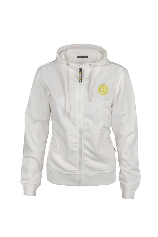 Пуловер GrezzoПуловеры<br><br><br>Размер RU: 44-46<br>Пол: Женский<br>Возраст: Взрослый<br>Материал: хлопок 100%<br>Цвет: Белый
