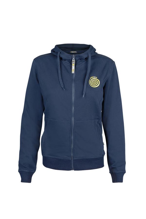 Пуловер GrezzoПуловеры<br><br><br>Размер RU: 50-52<br>Пол: Женский<br>Возраст: Взрослый<br>Материал: хлопок 100%<br>Цвет: Синий