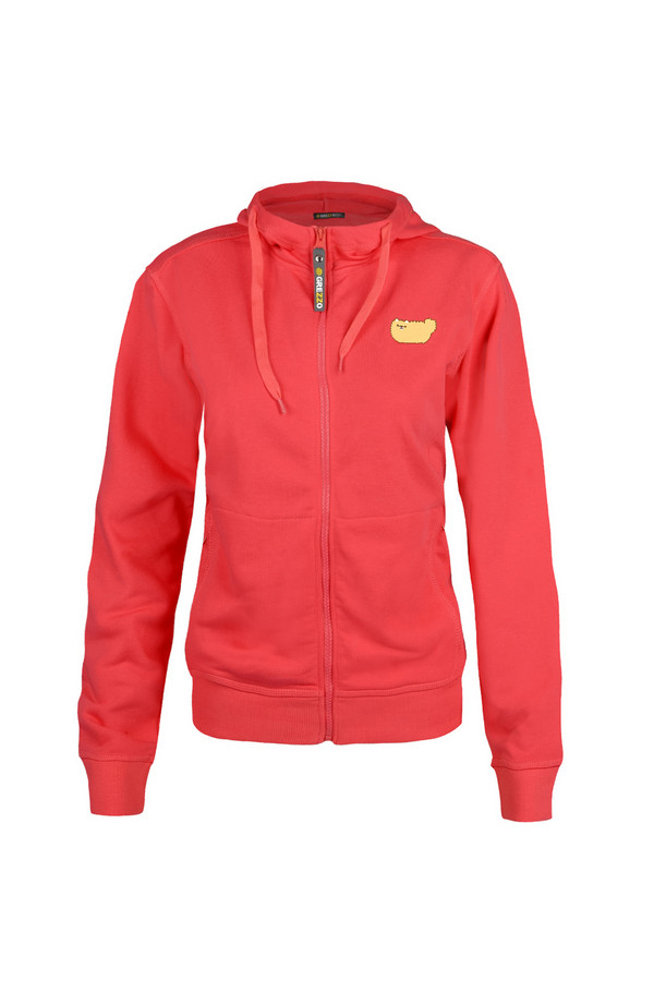 Пуловер GrezzoПуловеры<br><br><br>Размер RU: 46-48<br>Пол: Женский<br>Возраст: Взрослый<br>Материал: хлопок 100%<br>Цвет: Красный