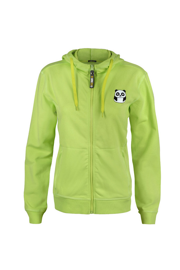 Пуловер GrezzoПуловеры<br><br><br>Размер RU: 46-48<br>Пол: Женский<br>Возраст: Взрослый<br>Материал: хлопок 100%<br>Цвет: Зелёный