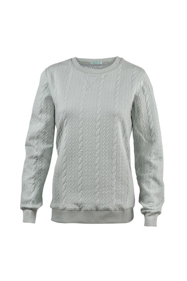 Пуловер SabellinoПуловеры<br><br><br>Размер RU: 50-52<br>Пол: Женский<br>Возраст: Взрослый<br>Материал: полиэстер 52%, хлопок 46%, спандекс 2%<br>Цвет: Зелёный