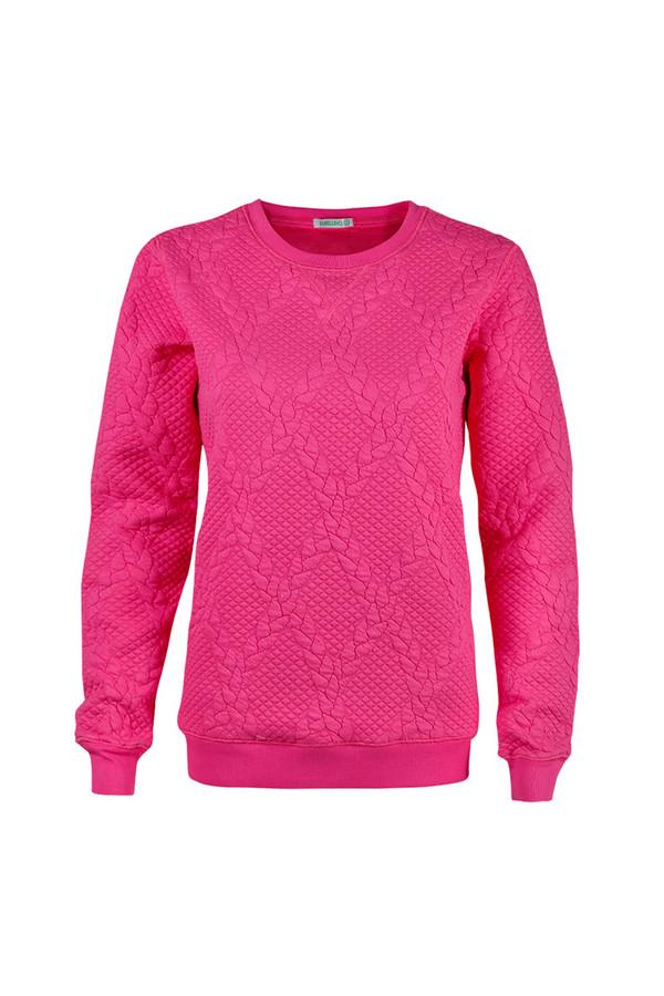 Пуловер SabellinoПуловеры<br><br><br>Размер RU: 44-46<br>Пол: Женский<br>Возраст: Взрослый<br>Материал: полиэстер 52%, хлопок 46%, спандекс 2%