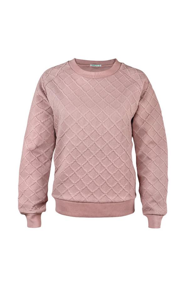 Пуловер SabellinoПуловеры<br><br><br>Размер RU: 48-50<br>Пол: Женский<br>Возраст: Взрослый<br>Материал: полиэстер 52%, хлопок 46%, спандекс 2%<br>Цвет: Розовый