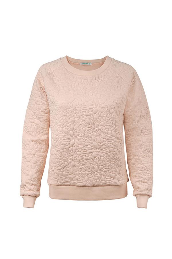 Пуловер SabellinoПуловеры<br><br><br>Размер RU: 48-50<br>Пол: Женский<br>Возраст: Взрослый<br>Материал: полиэстер 50%, хлопок 48%, спандекс 2%<br>Цвет: Розовый