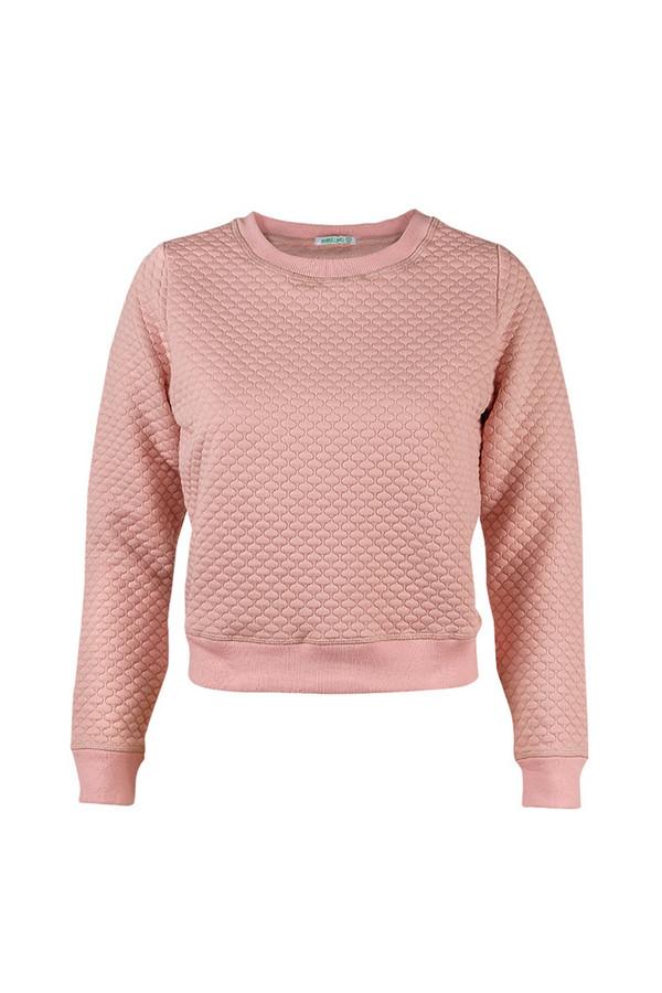 Пуловер SabellinoПуловеры<br><br><br>Размер RU: 46-48<br>Пол: Женский<br>Возраст: Взрослый<br>Материал: полиэстер 87%, спандекс 1%, иск.шелк 12%<br>Цвет: Розовый