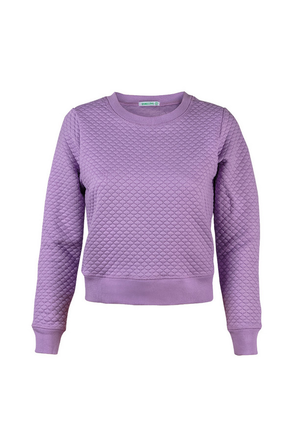 Пуловер SabellinoПуловеры<br><br><br>Размер RU: 48-50<br>Пол: Женский<br>Возраст: Взрослый<br>Материал: полиэстер 87%, спандекс 1%, иск.шелк 12%