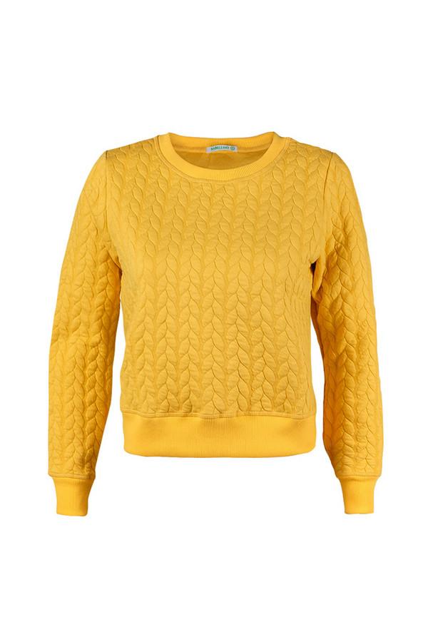 Пуловер SabellinoПуловеры<br><br><br>Размер RU: 46-48<br>Пол: Женский<br>Возраст: Взрослый<br>Материал: None<br>Цвет: Жёлтый