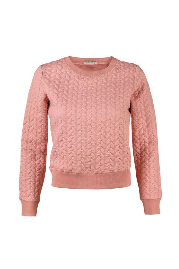 Пуловер SabellinoПуловеры<br><br><br>Размер RU: 44-46<br>Пол: Женский<br>Возраст: Взрослый<br>Материал: None<br>Цвет: Розовый