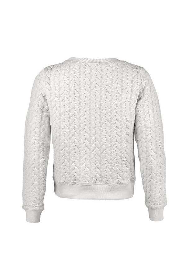 Пуловер SabellinoПуловеры<br><br><br>Размер RU: 46-48<br>Пол: Женский<br>Возраст: Взрослый<br>Материал: None<br>Цвет: Белый