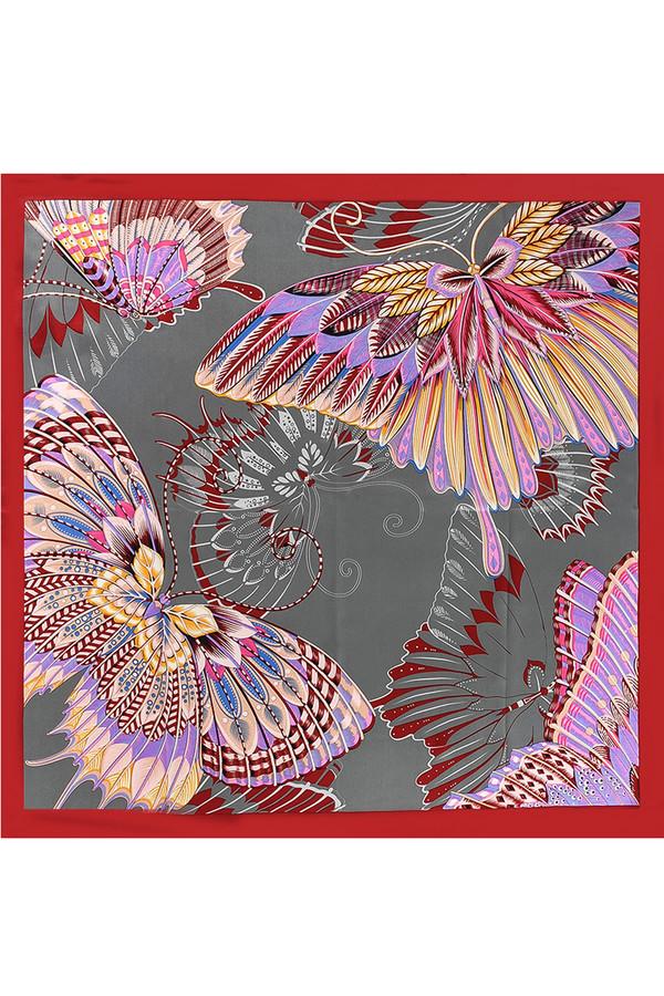 Платок PieroПлатки<br><br><br>Размер RU: 90 х 90<br>Пол: Женский<br>Возраст: Взрослый<br>Материал: шелк 100%<br>Цвет: Разноцветный