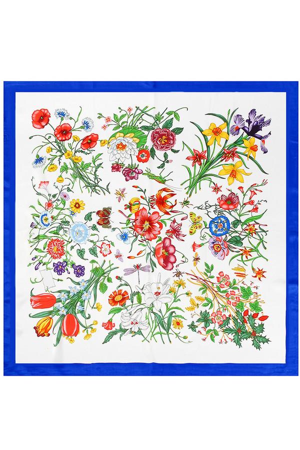 Платок PieroПлатки<br><br><br>Размер RU: 90 x 90<br>Пол: Женский<br>Возраст: Взрослый<br>Материал: шелк 100%<br>Цвет: Разноцветный