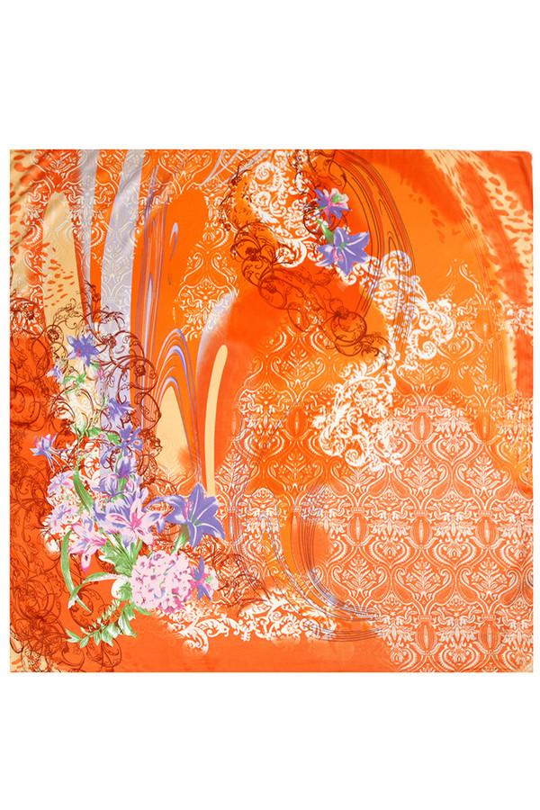 Платок SabellinoПлатки<br><br><br>Размер RU: 90х90<br>Пол: Женский<br>Возраст: Взрослый<br>Материал: полиэстер 100%<br>Цвет: Оранжевый