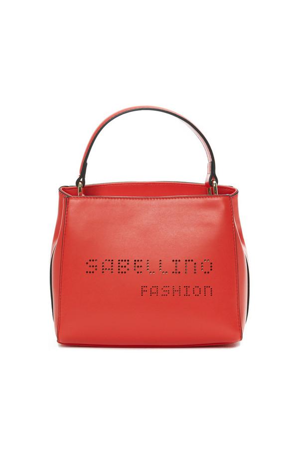 Сумка SabellinoСумки<br><br><br>Размер RU: 20,5 x 11 x 16,5<br>Пол: Женский<br>Возраст: Взрослый<br>Материал: иск кожа 100%<br>Цвет: Красный