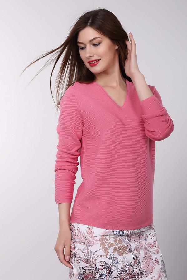 Пуловер Gerry WeberПуловеры<br><br><br>Размер RU: 42<br>Пол: Женский<br>Возраст: Взрослый<br>Материал: хлопок 100%<br>Цвет: Розовый